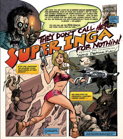 Super Inga by Haig Demarjian