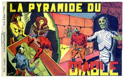 La Pyramide du Diable, by Robert Devil