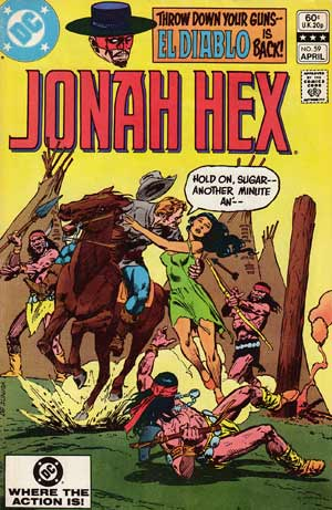 Jonah Hex, by Tony De Zuniga (1982)