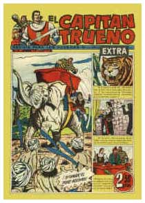 El Capitan Trueno, by Francisco Díaz