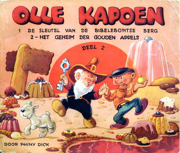 cover of Olle Kapoen, by Phiny Dick circa 1949