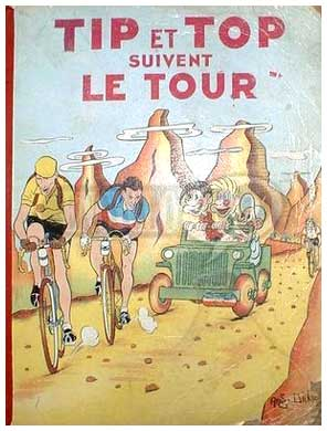 Tip et Top suivent le Tour, by Andrew Dickson