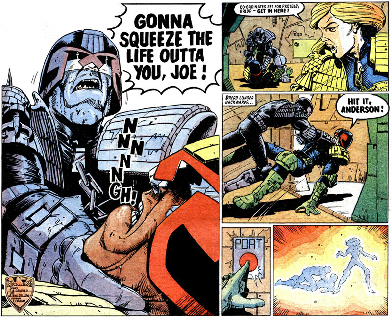 Judge Dredd by Steve Dillon