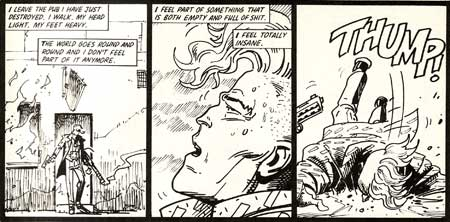 Johnny Nemo, by Steve Dillon (Deadline, 1989)