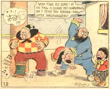 The Katzenjammer Kids, by Rudolph Dirks 1911