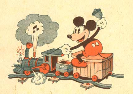 Les Adventures de Mickey, by Walt Disney