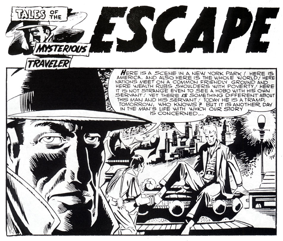 Escape, by Steve Ditko