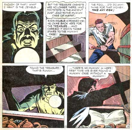 The Curse of Husfat (Ghostly Tales #56, 1966)