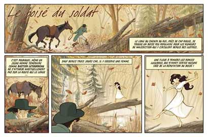 Comic for Spirou, by Djief