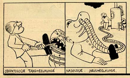 comic art by Ko Doncker (1905)