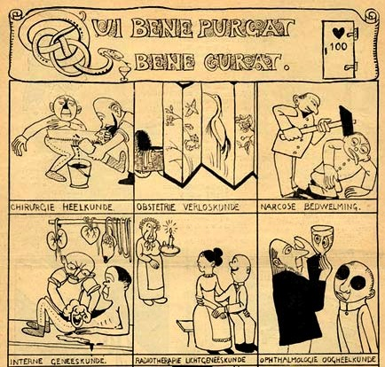 comic strip from De Ware Jacob, by Ko Doncker
