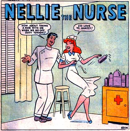 Nellie the Nurse by Carl Dorese