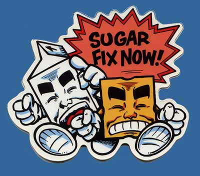 Sugar Fix Now!, by Evan Dorkin