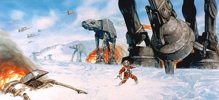Starwars, by Dave Dorman