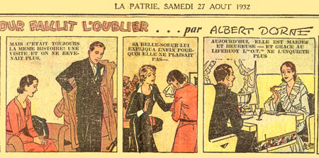 advertisement by Albert Dorne
