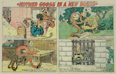 Mother Goose In A New Dress, by Driscoll