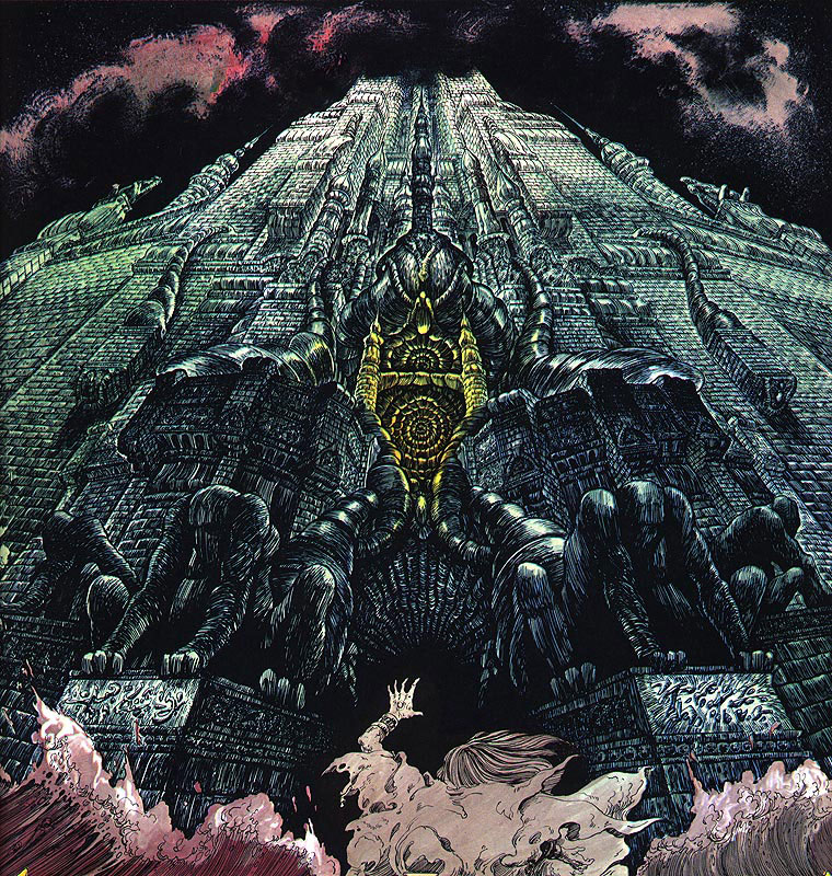 Yragael by Philippe Druillet