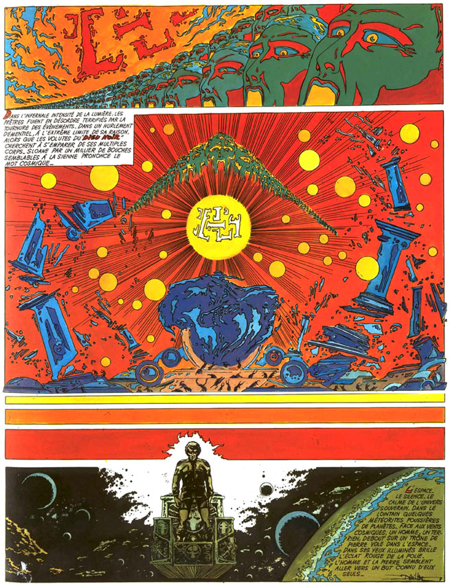 comic art by Philippe Druillet