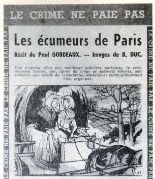 Le Crime ne Paie Pas, by Duc