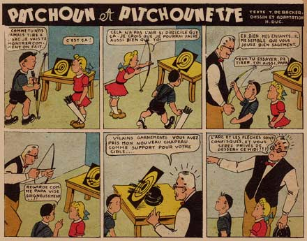 Patchoun et Pitchounette, by H. Duc (1943)