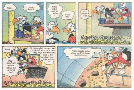 Donald Duck, by Henri Dufranne