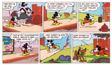 Mickey Mouse, by Earl Duvall