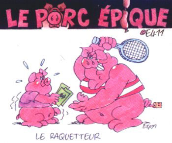 Le Porc-Épique, by E411