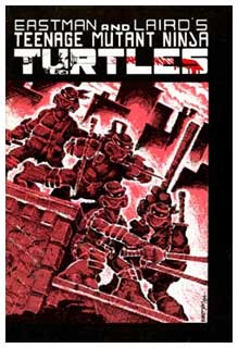 TMNT cover, by Kevin Eastman