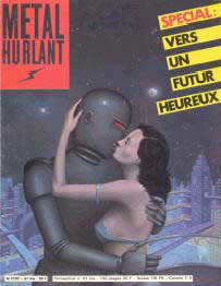 cover Metal Hurlant, by Didier Eberoni