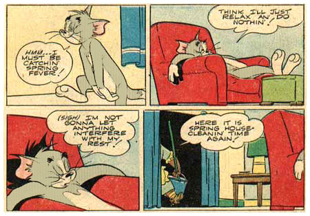 Tom & Jerry, by Harvey Eisenberg