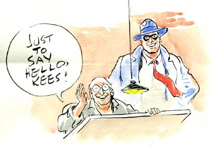 Letter to Kees, by Will Eisner 2003