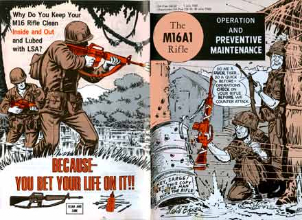 Manual for M16A1 Rifle by Will Eisner