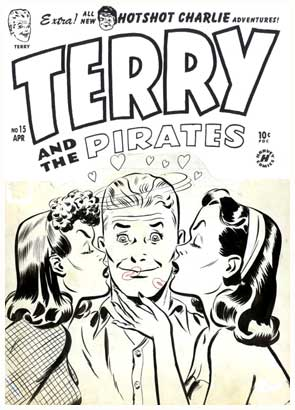 Terry and the Pirates, by Lee Elias