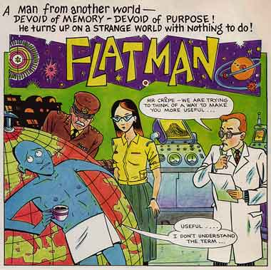 Flatman, by Phil Elliott