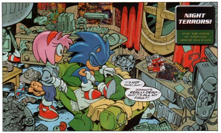 Sonic the Comic by Richard Elson