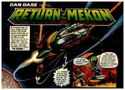 Dan Dare, by Gerry Embleton