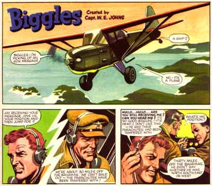 Biggles, by Ron Embleton