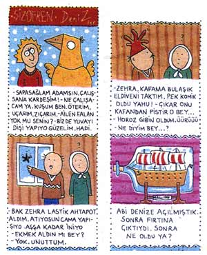 From Penguen, by Deniz Ensari