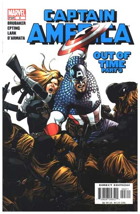 Captain America, by Steve Epting