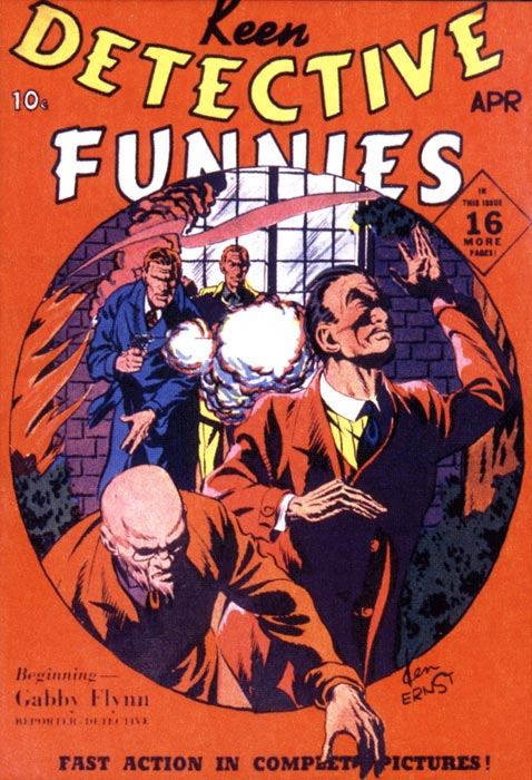 Detective Funnies cover by Ken Ernst