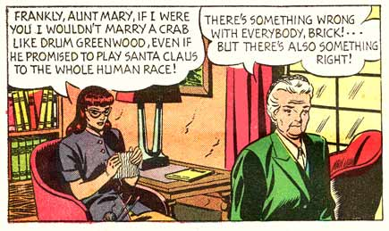 Mary Worth, by Ken Ernst (1950)