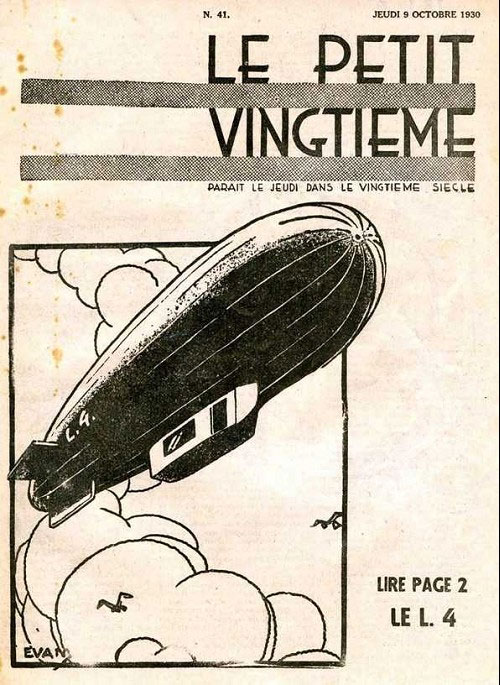 Cover for Le Petit Vingtième by Evany