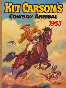 Kit Carson cover, by DC Eyles 1955