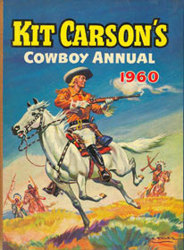 Kit Carson cover, by DC Eyles 1960