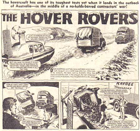 The Hover Rovers by Harry Farrugia
