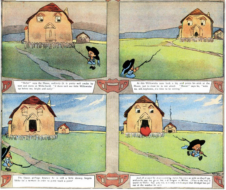 The kin-der-kids, by Lyonel Feininger