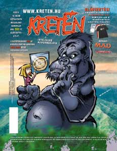 cover for Kreten by Imre Fekete