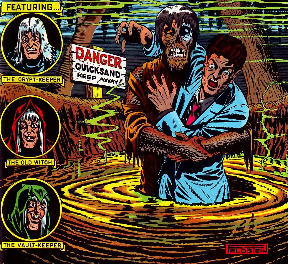 cover from Tales from the Crypt 24, by Al Feldstein