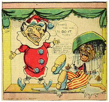 Punch and Judy, by Mark Fenderson (1904)
