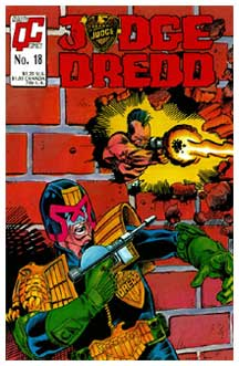 Cover for Judge Dredd, by Jim Fern